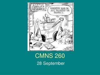 CMNS 260