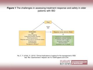 Figure 1  The challenges in assessing treatment response and safety in older patients with IBD