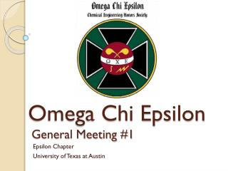 Epsilon Chapter University of Texas at Austin