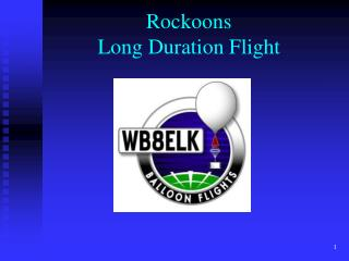 Rockoons Long Duration Flight