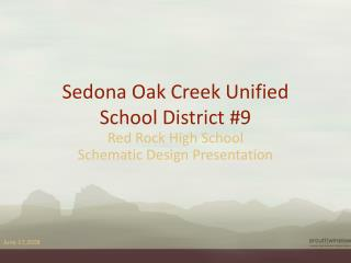 Sedona Oak Creek Unified  School District #9
