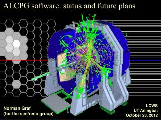 ALCPG software: status and future plans