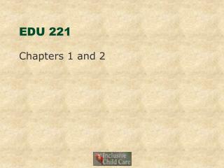 EDU 221