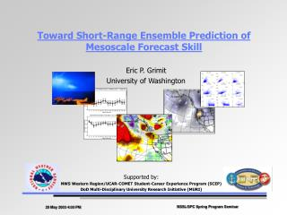 Toward Short-Range Ensemble Prediction of Mesoscale Forecast Skill