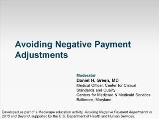 Avoiding Negative Payment Adjustments