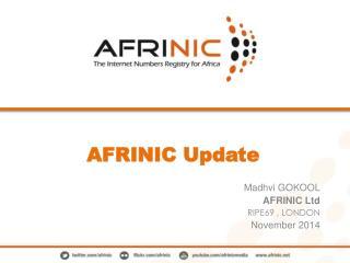 AFRINIC Update