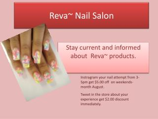 Reva ~ Nail Salon