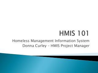 HMIS 101