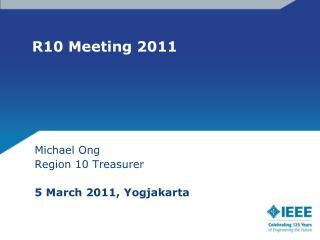 R10 Meeting 2011