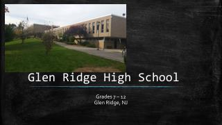 Glen Ridge High School