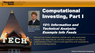 Examples of Information Feeds
