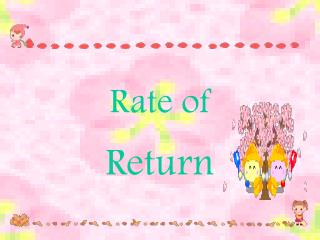 Rate of