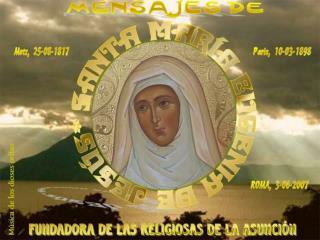 Sta M  Eugenia de Jes s Canonizaci n 3 06 2007 MLFM