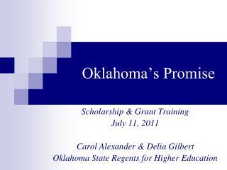 Oklahoma�s Promise