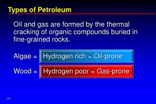Types of Petroleum