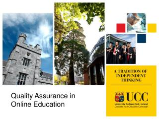 Quality Assurance in Online Education