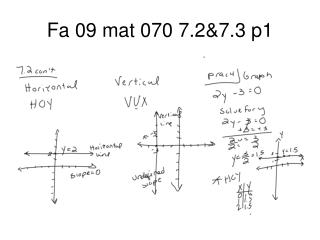 Fa 09 mat 070 7.2&7.3 p1