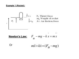 Example 1 (Rocket):