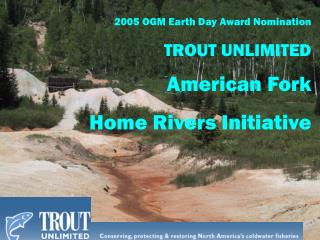 2005 OGM Earth Day Award Nomination
