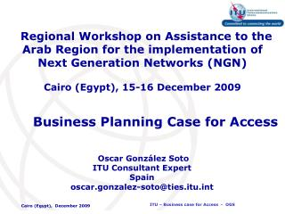 Business Planning Case for Access