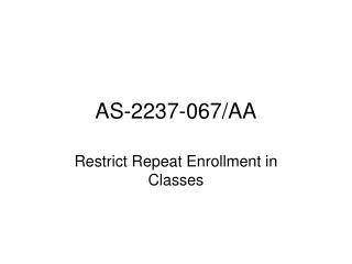 AS-2237-067/AA