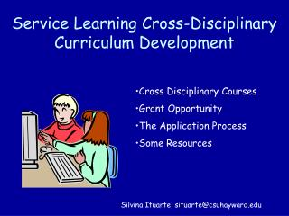 Service Learning Cross-Disciplinary Curriculum Development