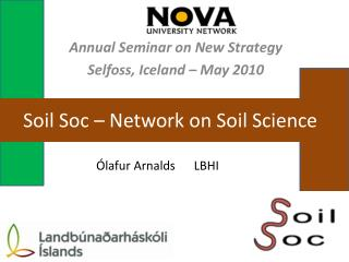 Soil Soc   Network on Soil Science