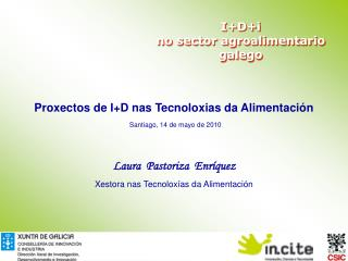 IDi  no sector agroalimentario galego