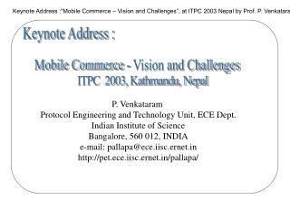 ITPC  2003, Kathmandu, Nepal