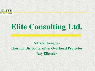 Elite Consulting Ltd.