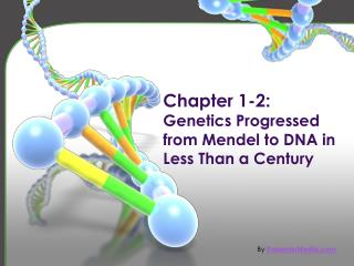 Chapter 1-2: Genetics Progressed from Mendel to DNA in Less Than a Century