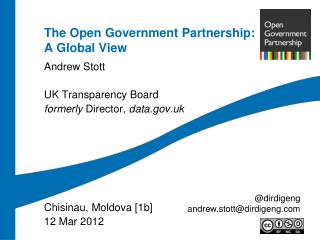 The Open Government Partnership: A Global View