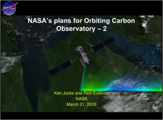 NASA's plans for Orbiting Carbon Observatory – 2