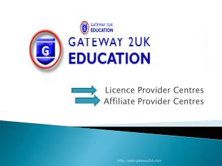 Licence Provider Centres Affiliate Provider Centres