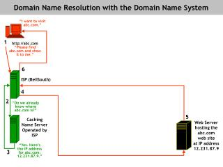 Domain Name Resolution with the Domain Name System