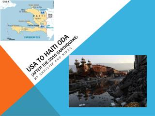 USA  to Haiti ODA (After the  2010  earthquake)