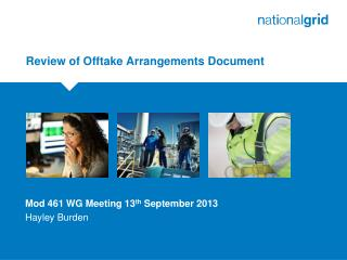 Review of Offtake Arrangements Document