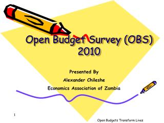 Open Budget Survey (OBS) 2010
