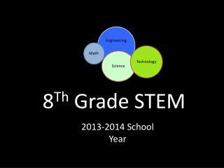8 Th  Grade STEM