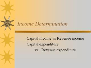 Income Determination