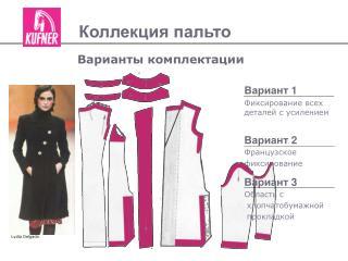 Коллекция пальто