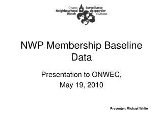 NWP Membership Baseline Data