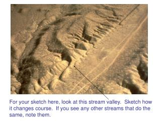 Mass movements (debris flows, landslides, etc.) Streams and rivers (surface water!)