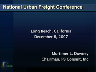 National Urban Freight Conference