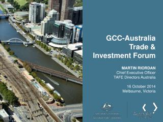 GCC-Australia Trade & Investment Forum