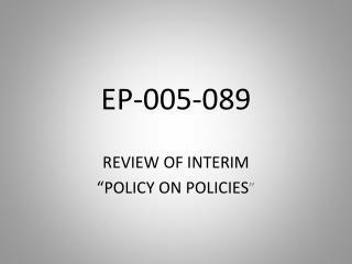 EP-005-089