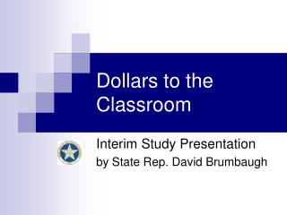 Dollars to the Classroom