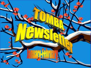 TOMBA Newsletter