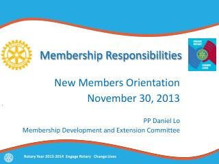 Membership Responsibilities