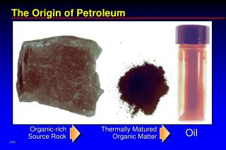 The Origin of Petroleum
